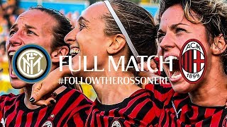 Full Match | Inter 1-3 AC Milan | Serie A Women 2019/20