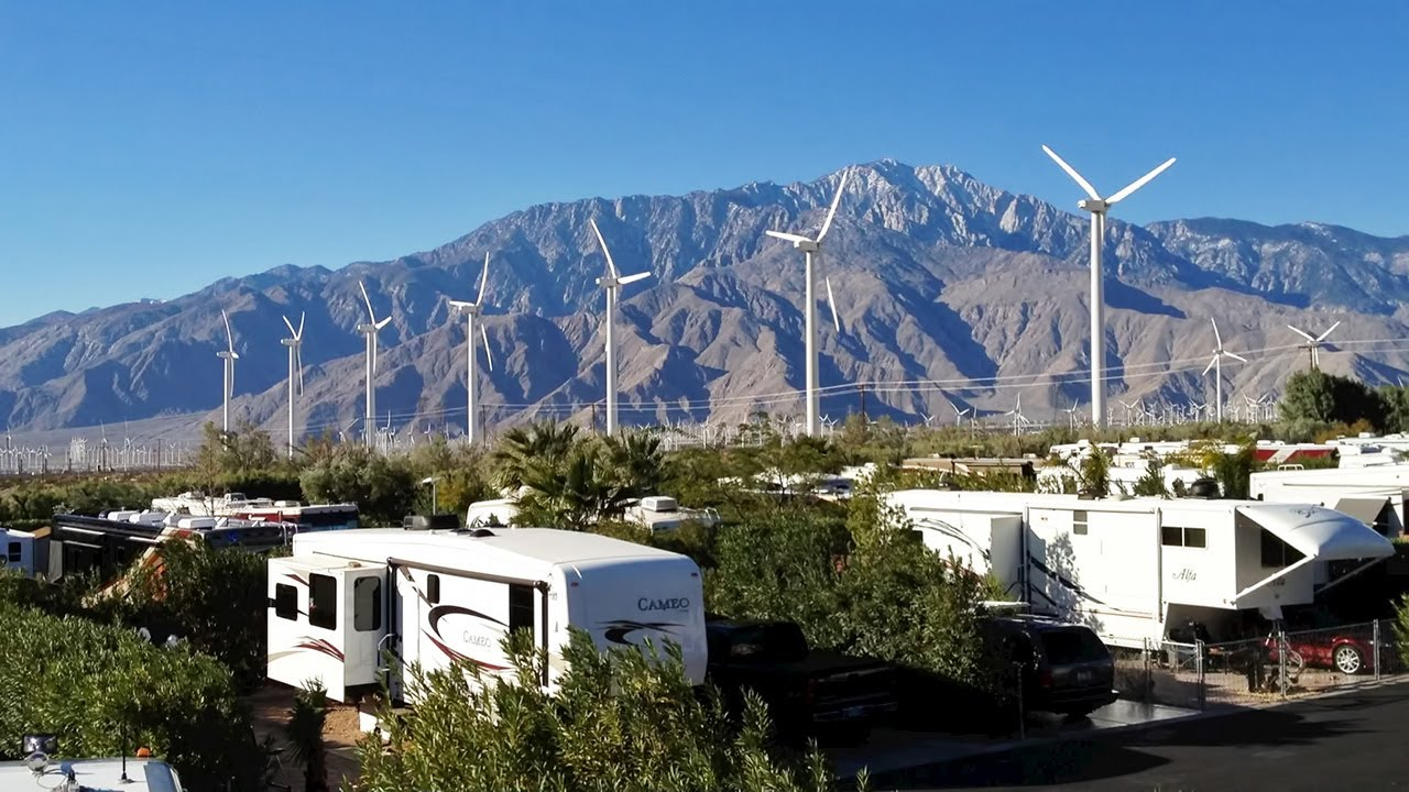 Our Rv Resort In Palm Springs Ca Youtube