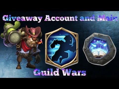 Giveaway Account Guild Wars Demo And Main Account Guild Wars Castle Clash