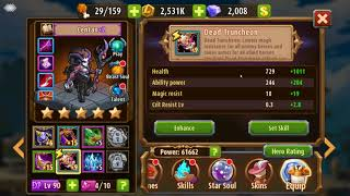 Magic Rush: Heroes - Centax Breakdown and Horror Story Build