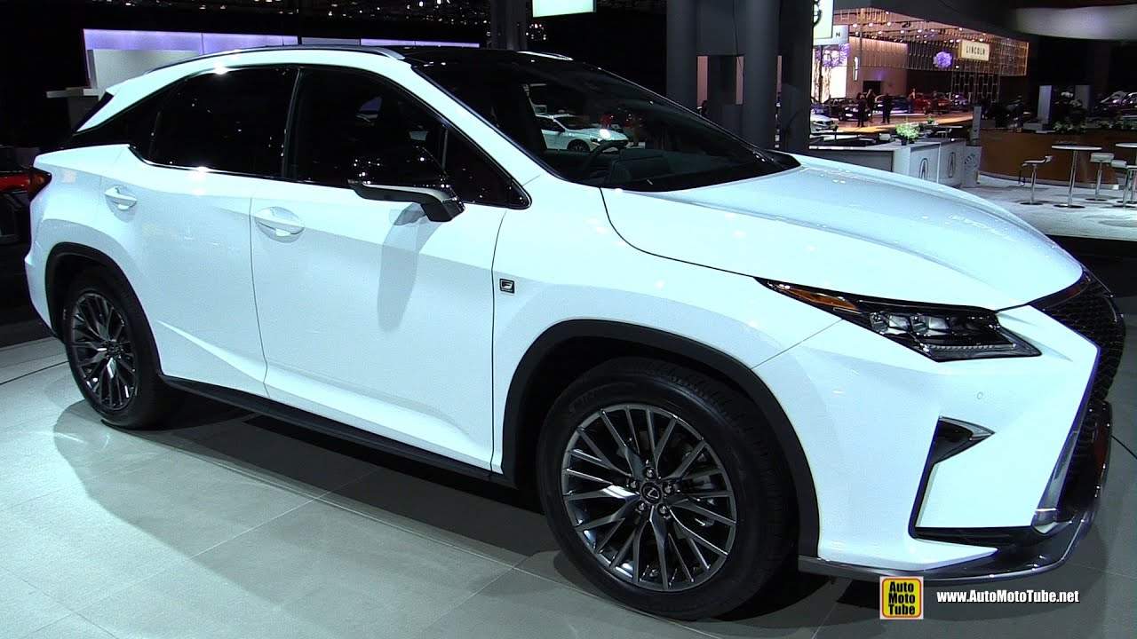 2016 Lexus RX350 F Sport   Exterior And Interior Walkaround   Debut At 2015  New York Auto Show   YouTube