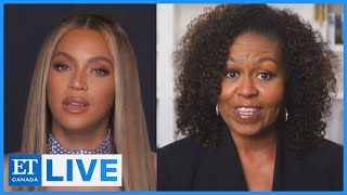 Michelle Obama Intros Beyonce At BET Awards | ET Canada LIVE