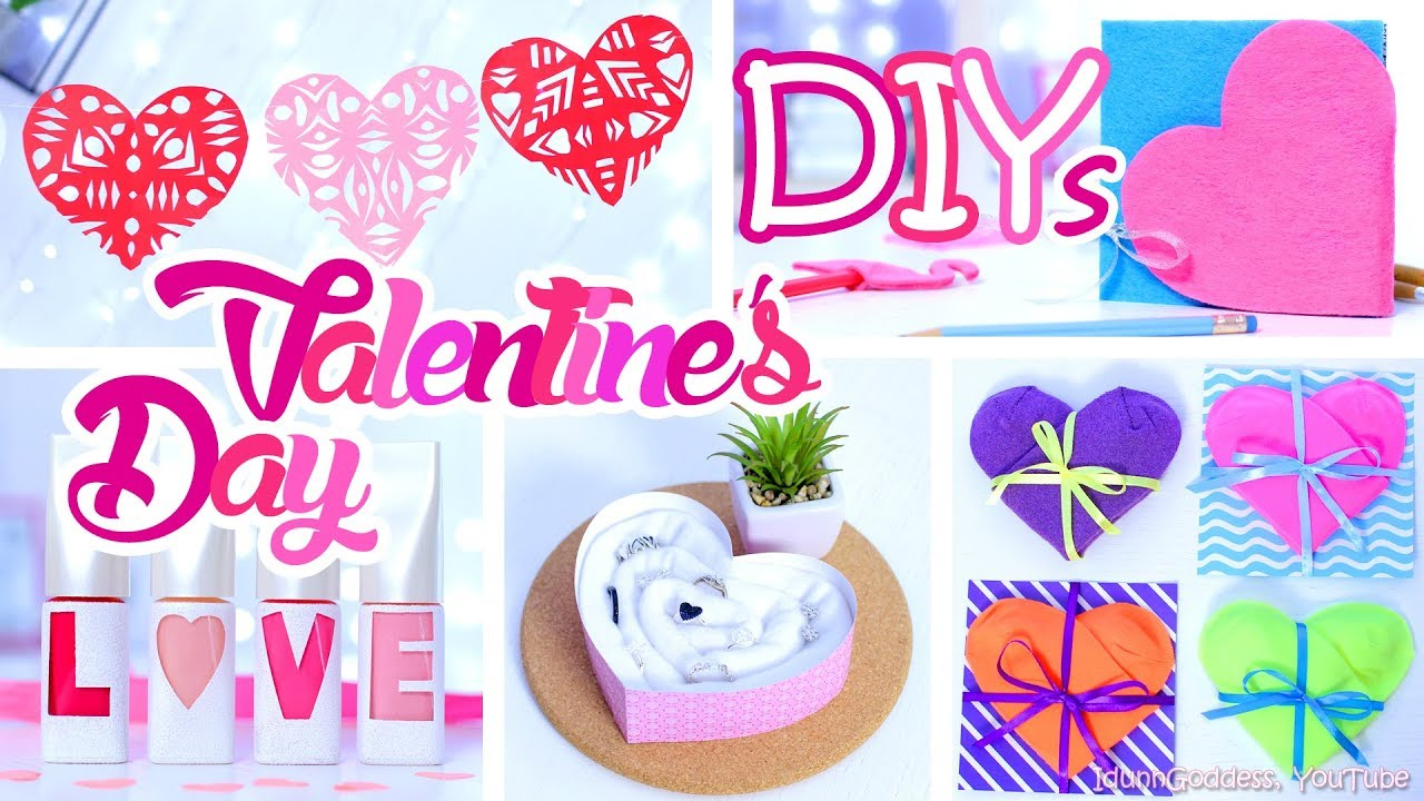 5 Diy Last Minute Gifts For Valentine S Day Easy And