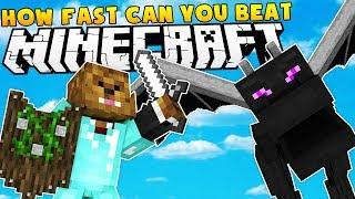 MODDED SURVIVAL ISLAND HOW FAST CAN YOU BEAT MINECRAFT WITH MODS? - MOD CHALLENGE SERIES #1
