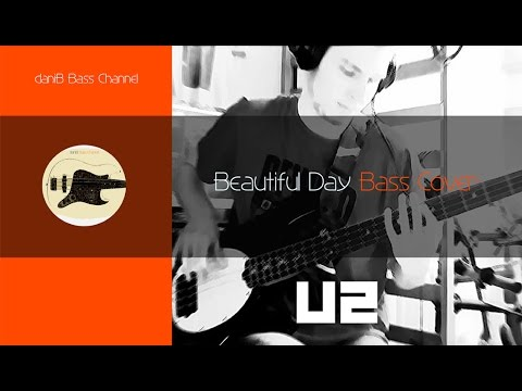 U2 Beautiful Day Bass Cover TABS daniB5000