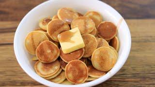 Mini Pancakes Recipe  Pancake Cereal  Trending TikTok Recipe