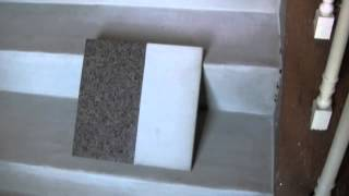 Concrete topping over wood