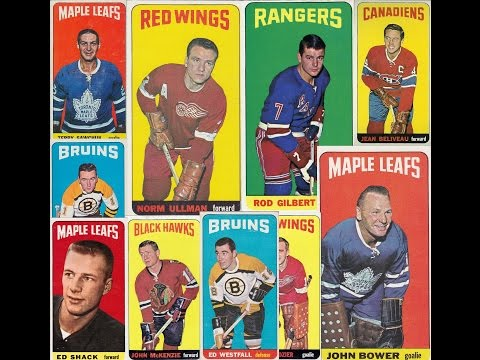 1964-65 Topps National Hockey League (NHL) Hockey Cards