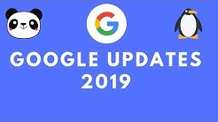 Google Updates - Latest Google Algorithm Updates 2019 | Tutorial For Beginners