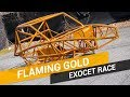 Flaming Gold Exocet Race Chassis Powder Coating Example