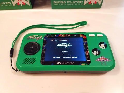 Galaga My Arcade Pocket Player Review
