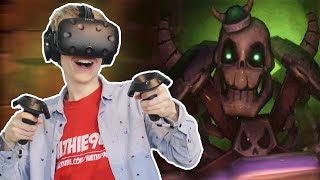 ENTERING THE NIGHTMARE DUNGEON! | VR Dungeon Knight (HTC Vive Gameplay) Ep 2