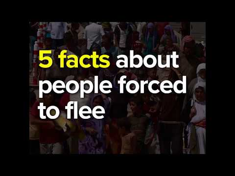 Global trends 2016: 5 Facts about people forced to flee