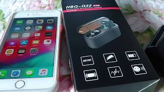 How To Pair HBQ-Q32 TWS Bluetooth With Apple Iphone