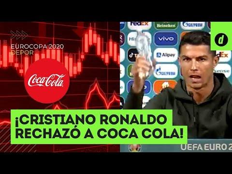 Cristiano Ronaldo y el GESTO que hizo perder a COCA COLA millones de dólares en la bolsa