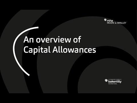 An Overview Of Capital Allowances