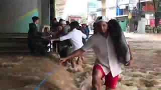 Flood in Kerala - Reduce in Flooded Area - Aluva  Region #01