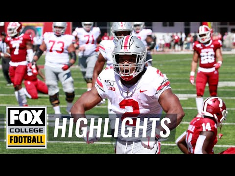 Ohio State destroys Indiana 51-10 behind J.K. Dobbins | FOX COLLEGE FOOTBALL HIGHLIGHTS