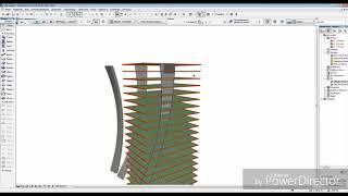 Небоскреб в archicad .морф в деле . моделирование сложных форм