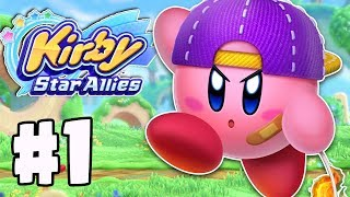 Kirby Star Allies Gameplay