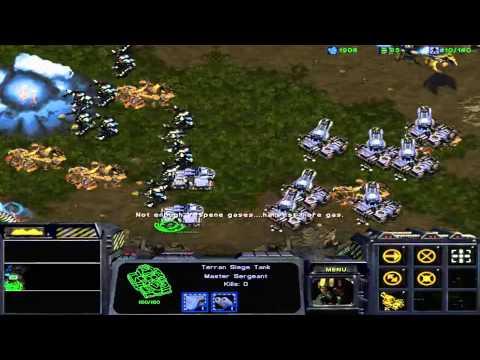 StarCraft: Brood War Campaign: Enslavers -- Episode I 3A. Assault on Aiur (Zerg Option)
