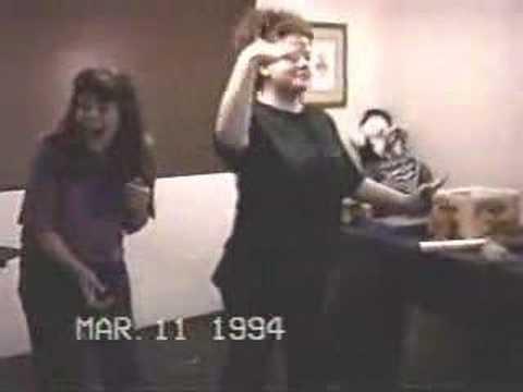 headbanging and slam dancing