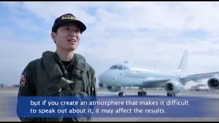 """JMSDF activity 2 of 6 """"Patrol"""" ~ P-1 patrol aircraft~"""