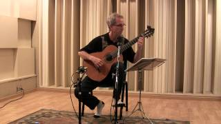 Bach Cello Suite No. 1 BWV 1007 Allemande, Craig Einhorn, Classical Guitar