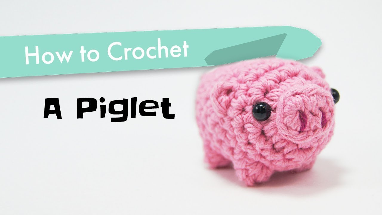 Crochet Animals Pig Amigurumi Crochet Tutorial - Part 2 - Craft ... | 720x1280