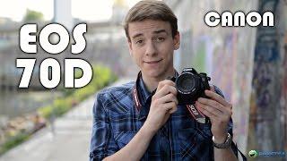 Canon EOS 70D: обзор полупрофессионального фотоаппарата(Цена и наличие: http://rozetka.com.ua/canon_eos_70d_body_off/p296640/ Видеообзор фотоаппарата Canon EOS 70D Смотреть обзоры других фотоап..., 2014-09-04T14:15:39.000Z)