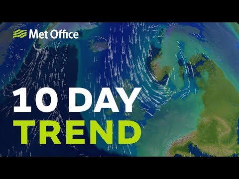 10 Day trend - Turning colder but will the snow continue into next week?