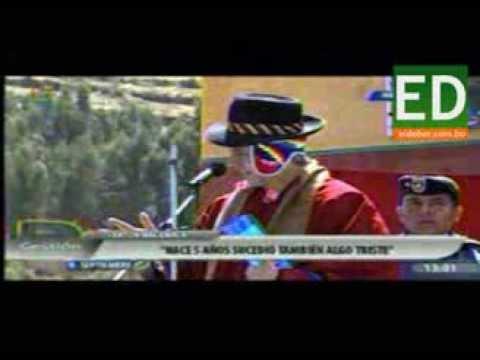 Vicepresidente acusó a la media luna de querer dividir Bolivia