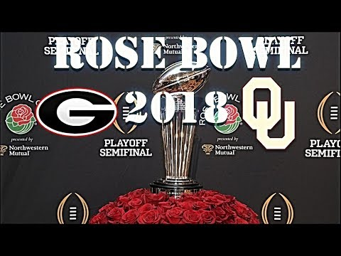 #3 Georgia Vs. #2 Oklahoma Highlights | Rose Bowl 2018 | College Football Highlights 2017/18