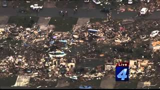 Bob Moore Chopper 4 Surverys Moore Tornado Damage