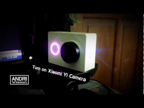 Xiaomi Yi Master - Control, Live View  Xiaomi Yi With PC Laptop