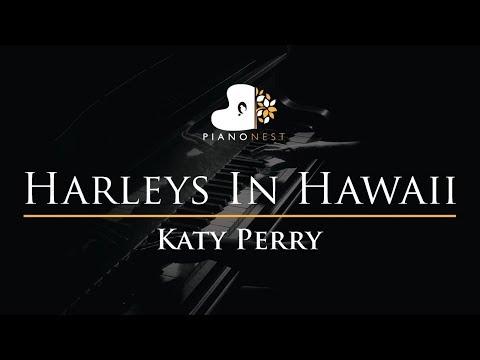 katy-perry---harleys-in-hawaii---piano-karaoke-instrumental-cover-with-lyrics