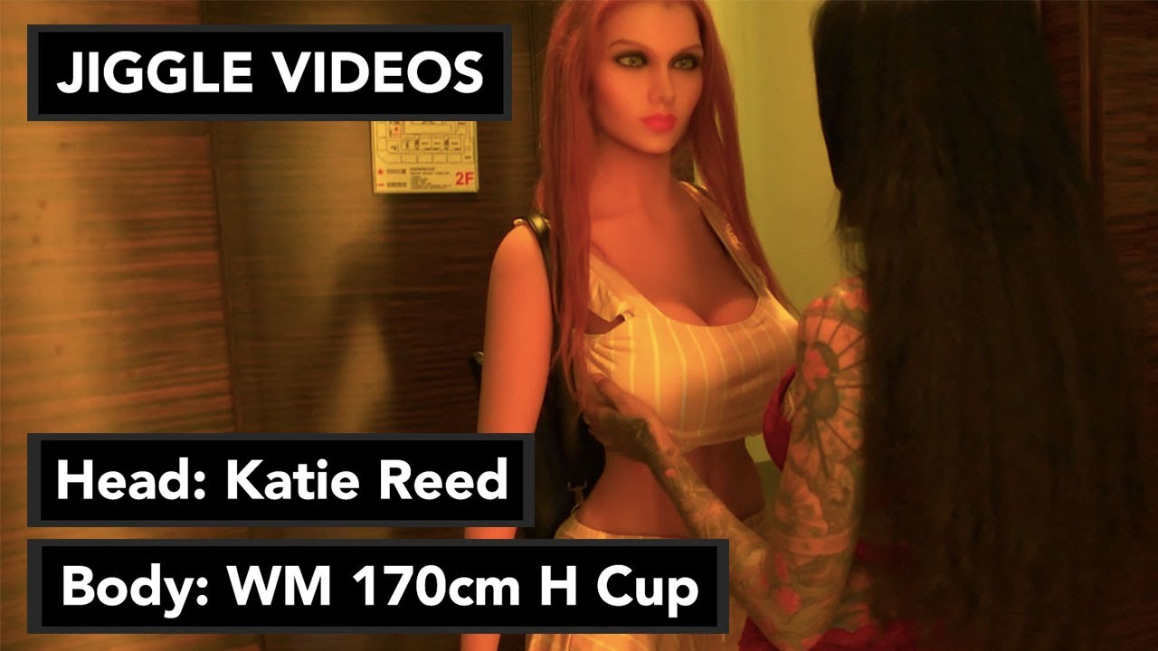 Download WM 170cm H Cup Sex Doll Jiggle Video with LoveDolls Katie Reed Head