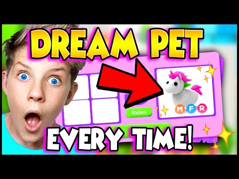 5 WAYS To Get Your DREAM PET in Adopt Me EVERY TIME!! Prezley