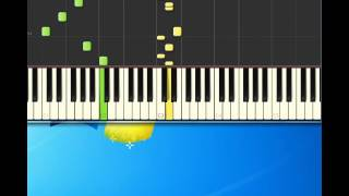 Big Bopper   Chantilly Lace [Piano tutorial by Synthesia]