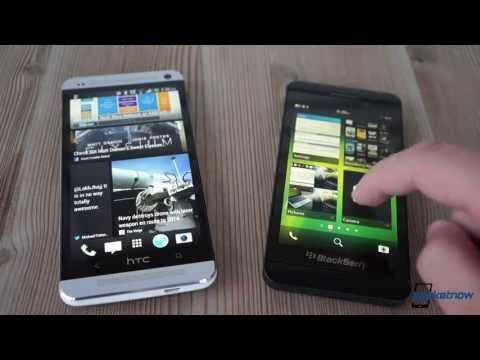 HTC One vs BlackBerry Z10 | Pocketnow