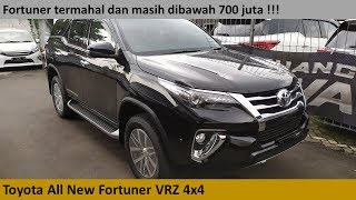 Toyota Fortuner VRZ 4x4 [AN150] review - Indonesia