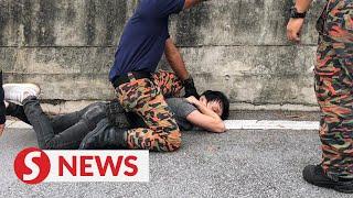 Freelance event organiser jailed six months, fined RM6k for punching fireman