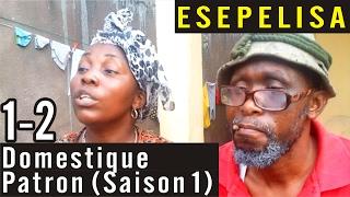 Domestique Patron 1-2 (Saison 1) -  Nouveau Theatre Congolais 2016 Modero Sundiata Esepelisa