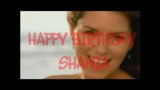 HAPPY 45th Birthday Shania