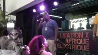Kenny Bobien live @WMC 2015 Libation x  Afrique Electrique Party Ocean