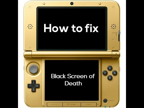 How To Fix The 2ds Black Screen Of Death Youtube
