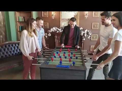 Видеообзор настольный футбол Desperado Премиум Спорт (Premium Sport))