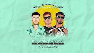 QUIERE BEBER x CALLAITA - Anuel Aa Ft Bad Bunny [Ivan Ortiz Mashup]