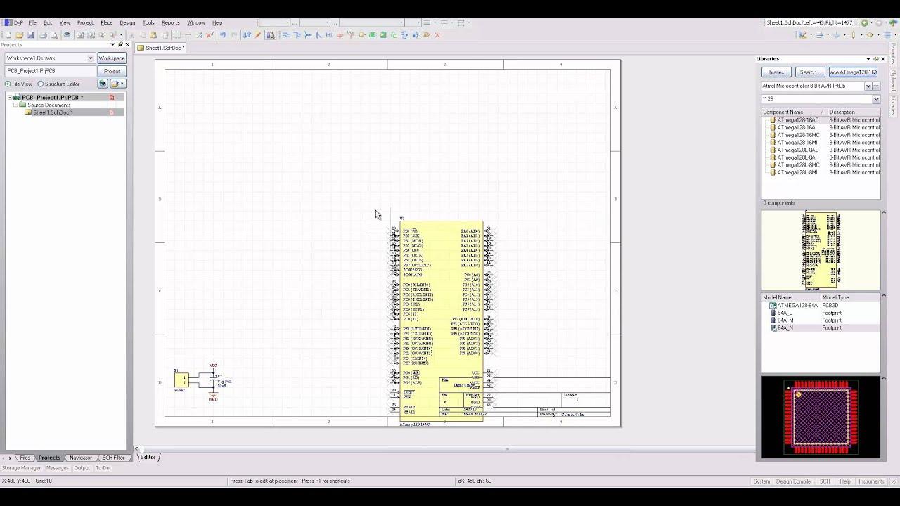 protel pcb design tutorial pdf