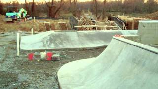 Construction Update #2: Veterans Skatepark 12/11/11 - Woodbridge, Va - Thunderwood